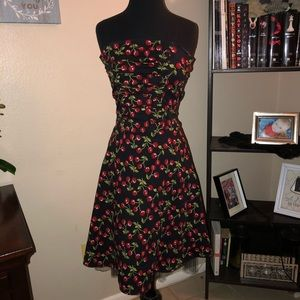 Dresses & Skirts - Pinup style cherries dress
